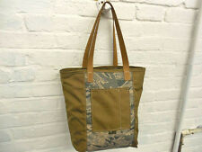 Weekender Tote - by Union Bag Co., USA Made, Heavy Duty Cordura, Tan+TigerStripe