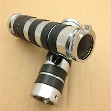 Replacement Motorcycle 1'' HAND GRIPS Fit for Harley Davidson bikes CHROME
