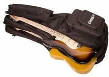 ChromaCast Pro Series Double Electric Guitar Padded Gig Bag 6 Pockets Creative