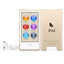 NEW & SEALED Apple iPod nano 7th Generation (Mid 2015) Gold (16GB)