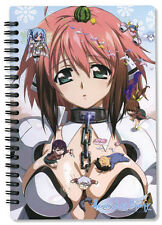 Sora no Otoshimono Heaven's Lost Property Spiral Notebook Note Book Anime NEW