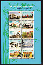 VIETNAM 2007 40TH ANNIV. S.E.ASIAN NATIONS  SHEETLET  MNH.. .