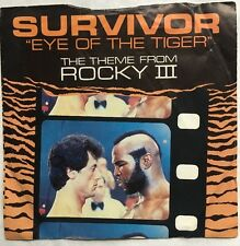 "Survivor - Eye of The Tiger - Scotti Brothers 7"" Picture Sleeve Single SCT A2411"