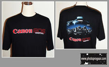 LIMITED SALE EXCLUSIVE CANON EOS DIGITAL T-SHIRT LARGE SIZE