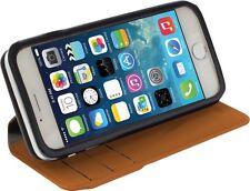 Portafoglio di Qualità/Custodia Flip per Apple iPhone 6 Plus/Tan colore/Thailandia MADE