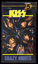 KISS CRAZY NIGHTS VHS