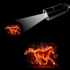 LED Fire Horse Projection Bar/Hotel/Shop Atmosphere Light E26 E27 Lamp 3D Logo