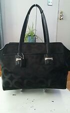 Coach F25501 Taylor Op Art Alexis Carryall Shoulder Tote Handbag MSRP $398