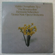 NEAR MINT MAHLER SYMPHONY NO.2 Resurrection Scherchen Westminster Gold WGS 8262