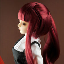 "Dollmore 1/3 BJD dollfie SD wig  (8-9)""  Pony Tail Dream Wig (Wine)"