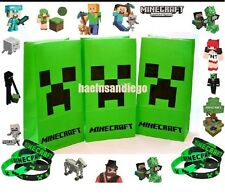 MINECRAFT BIRTHDAY PARTY GOODY BAG AND PARTY FAVORS - LOT OF 45!  FREE SHIPPING!
