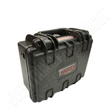 Waterproof Gun Hard Case Storage Carry Lock Box Single One Pistol Handgun Small