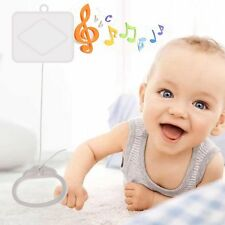 Pull String Cord Music Box Baby Bed Kids Bell Toy Play Brahms Songs