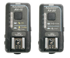RoboSHOOT MX-15/RX-20 Wireless Flash Trigger Kit for Fuji-X