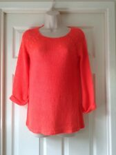 Miss Fiori Super Soft Throw Over Top, Fluo Coral, Size 14