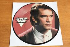 """Huey Lewis And The News / UK 7"""" Picture Disc / Do You Believe In Love"""
