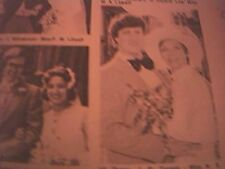 ephemera 1976 kent wedding small picture senor j r torroja miss n s batchelor