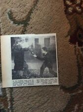 B1-6 ephemera 1961 picture earl cameron max butterfield flame in the streets