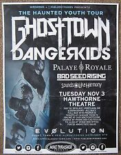 GHOST TOWN 2015 Gig POSTER Evolution Portland Oregon Concert