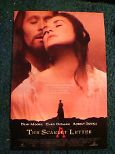 THE SCARLET LETTER - MOVIE POSTER WITH DEMI MOORE AND GARY OLDMAN