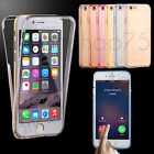 ETUI COQUE HOUSSE FULL PROTECTION SILICONE TPU POUR IPHONE AU CHOIX + STYLET