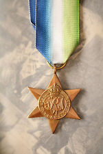 WW2 BRITISH & COMMONWEALTH ALLIED FORCES NAVIES ATLANTIC STAR NAVY MEDAL