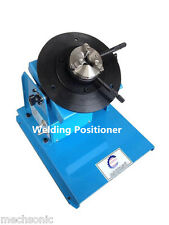 2-18RPM 10KG Light Duty Welding Turntable Positioner with 65mm Chuck 110V/220V S