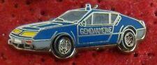 PIN'S VOITURE ALPINE RENAULT GENDARMERIE A 310 1974 ZAMAC
