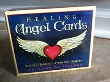 HEALING ANGEL CARDS IN A BOX INSPIRATIONAL ORACLE SPIRITUAL WISDOM TAROT Salerno