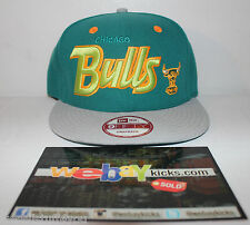 New Era Chicago Bulls Lebron 10 Green Orange Miami Dolphin Snapback Cap Hat New