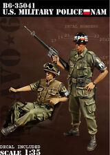 Bravo6 1:35 US US Military Police Vietnam - 2 Resin Figures #B6-35041