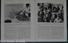 1943 magazine article, Feeding the US Soldier, FARMING, processing etc