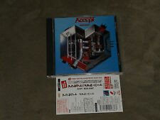 Accept ‎Metal Heart Japan CD