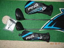 NICE  Ping G Series  10.5* Driver & 13* Stretch #3 Wood with Reg Ping ALTA Shaft