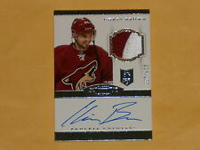 2013-14 Dominion Rookie Patch Auto Rookie Hockey Card # 179 Chris Brown /299