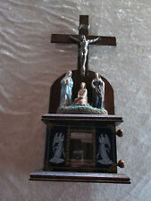 Vintage Crucifix with stations of the cross