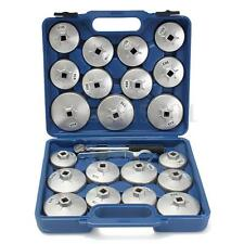 """23 Pc 1/2"""" DR Aluminum Alloy Cup Type Oil Filter Cap Wrench Socket Removal Set"""
