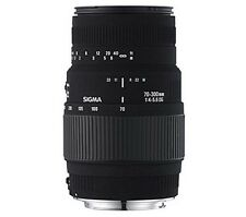 Sigma 70-300mm f4-5.6 DG Macro Lens - Nikon Fit - UK STOCK
