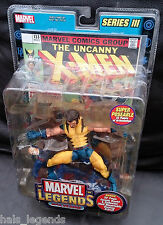 "Marvel Legends Series III. 6"" UNMASKED WOLVERINE Variant. New! Rare! X-Men"