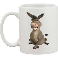 PERSONALISED MUG *  ANY NAME  TEXT * CHRISTMAS* GIFT /NEW DONKEY FROM SHREK