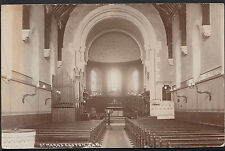 Somerset or Suffolk Postcard - Interior of St Mark's Church, Easton   A6624