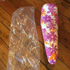 Girls Flower Power Vintage NOS Troxel  Banana Bike Seat-Fits Schwinn  & Others