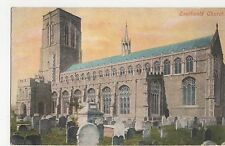 Suffolk, Southwold Church Postcard, A845