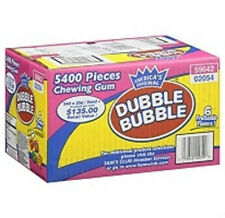 5400 Dubble Bubble Tab Chewing Gum 6 Flavors 6 Colors Free Shipping Bulk Candy