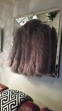 MONGOLIAN LAMB FUR COAT ,WILL NOT BE RELISTED