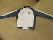 SUPER BOWL XLVI..INDIANAPOLIS 2012...GREY/WHITE NFL JACKET...ADULT LARGE...