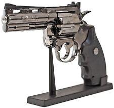 MAGNUM Sturmfeuerzeug 1 zu 1 Model Gas Nachfüllbar Revolver Colt Piezo Flame