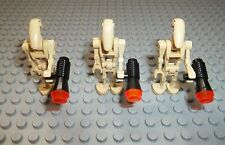 LEGO Star Wars 3 x Droiden Figure incl. Blaster Arma Droid Droide Figura SWDR