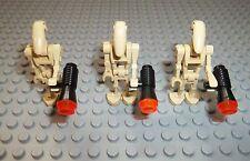 LEGO Star Wars 3 x Droiden Figuren  inkl Blaster Waffe Droid Droide Figure SWDR