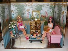 Resplendent Baroque, Rococco Louis XIV French Chateau 1:6 Handmade Diorama Rooms